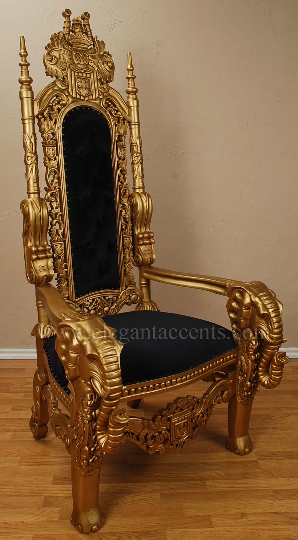 products > accent chairs & thrones > throne chairs
